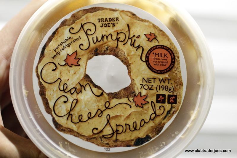 Trader Joe S Pumpkin Cream Cheese Spread Club Trader Joe S